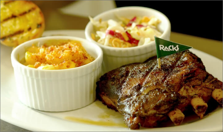 Racks Ribs with 2 Sides